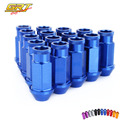 GRT -  Race Car Light Weight  Wheel Racing Lug Nuts P:1.5/1.25, L:52mm (20Pcs/Set)Bule/red/blcack/golden/silver/purple/gray