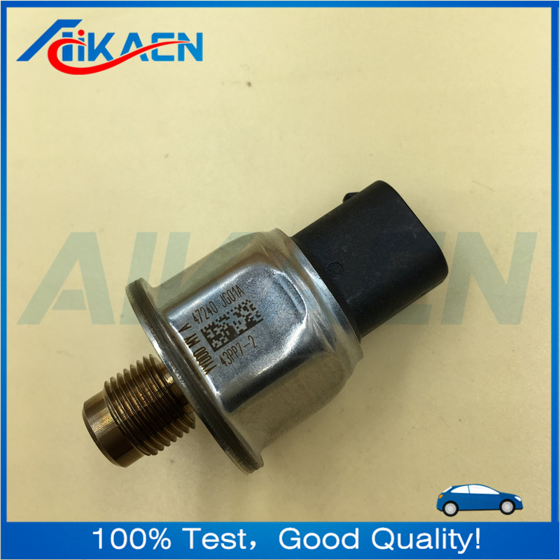 43pp7-2 black Original Fuel Rail Pressure Sensor For Nissan X-TRAIL JUKE T31 47240-JG01A 47240JG01A 43PP7-2