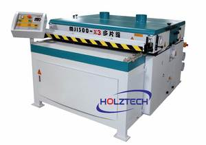 MJ1300-X3 Multiple Blade Cutting Machine Multiple Rip Saw