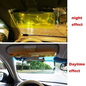 Image 5 - Auto Zonnescherm Dag En Nacht Zonneklep Anti Verblinding Bril Clip On Rijden Voertuig Shield Voor Clear View vizier