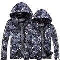 New 2016 Summer Plus Size Camouflage  Men's Clothing Jacket Thin Slim  Breathable Camouflage Jacket