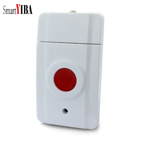 SmartYIBA 433MHZ Wireless Emergency Panic Button SOS Work With Wifi GSM PSTN Home Security Alarm System wireless pager system 433 92mhz wireless restaurant table buzzer with monitor and watch receiver 3 display 42 call button