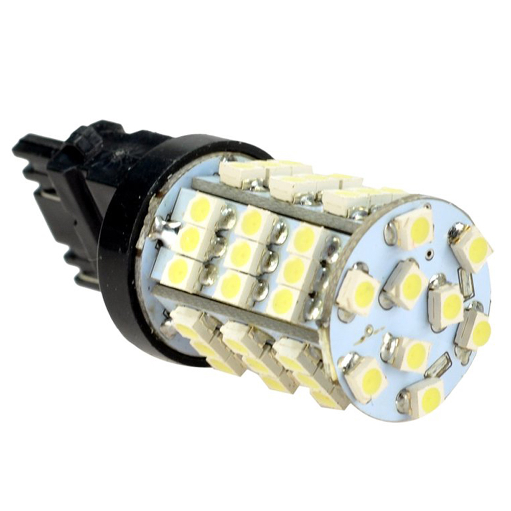 10x) 12V 3156 3157 3757 4157 54-SMD LED Light bulbs For Car 8-pack 3156 3w 1 smd led red light car steering backup light 12v