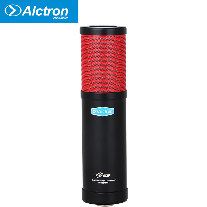 все цены на Alctron CS55 large diaphragm condenser recording microphone used in studio, recording and stage performance онлайн
