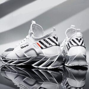 Image 1 - 2019 grande taille 39 46 hommes baskets confortable adulte concepteur léger mode respirant été formateurs hommes chaussures # ABG72
