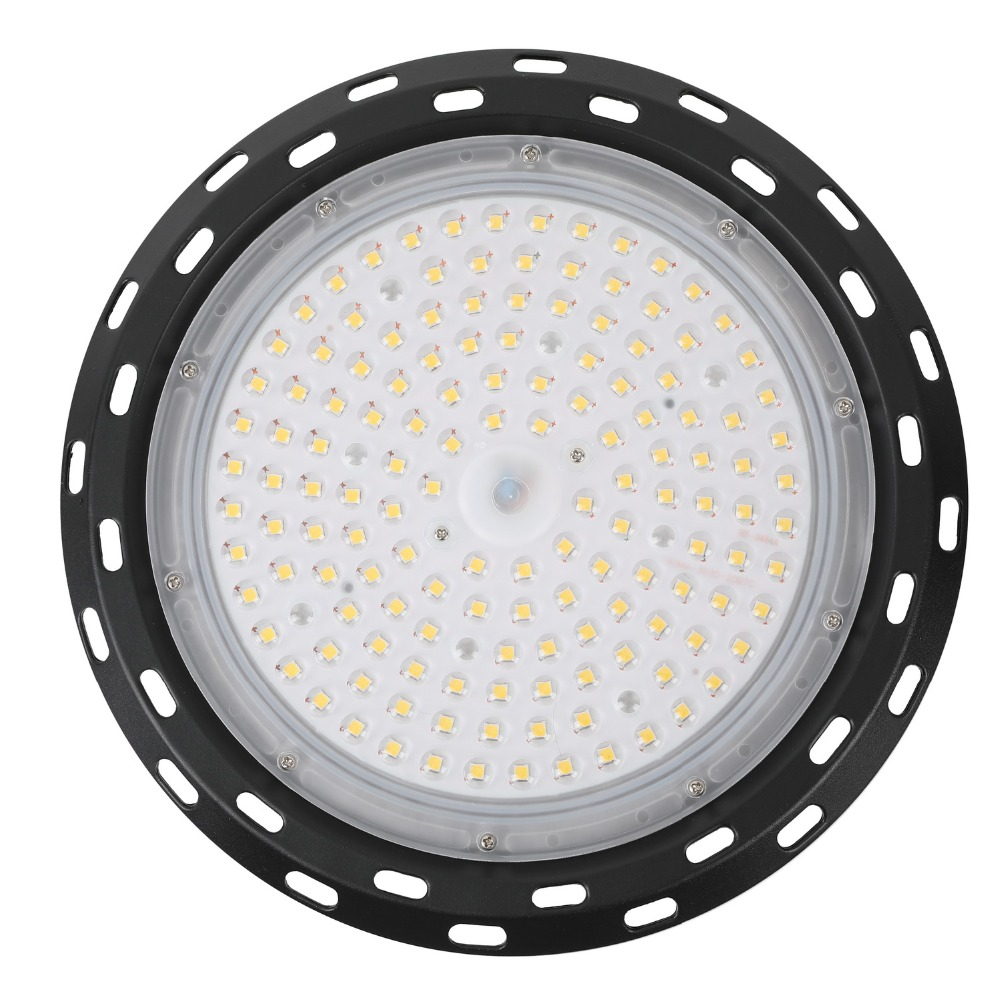 UFO LED High Bay Light 100//200//300W Low Bay Industrial Warehouse Lights Cool