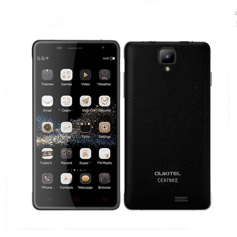 100 Original Oukitel K4000 Pro Mobile Phone 5 Android 5 1 MT6735P Quad Core 2GB Ram