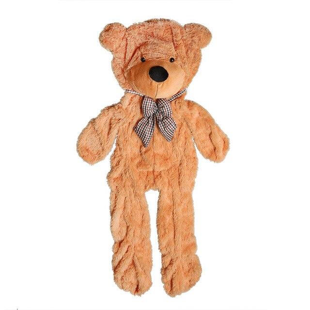 giant teddy bear toy plush empty shell animal bear skin with zipper