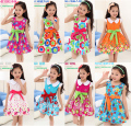 2017 Hot Flower Girls Casual Dresses Kids Girl Floral Dress Children Summer Fashion Costume Clothes Vestido Infantil Outwear