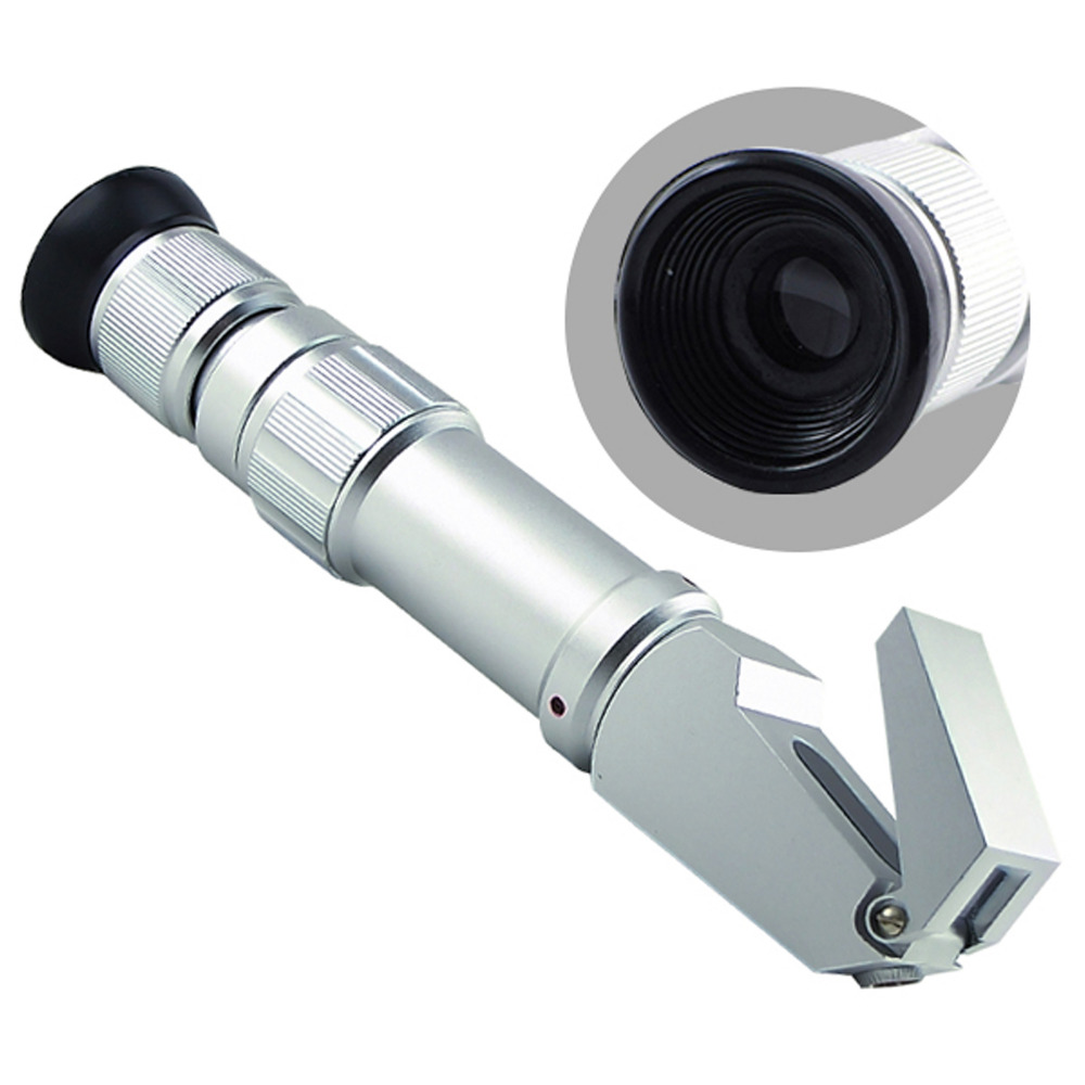 NEW 0 80 Wide Range Heavy Duty Brix Dual Scales Refractometer Syrup Jam CNC Fruit Juice