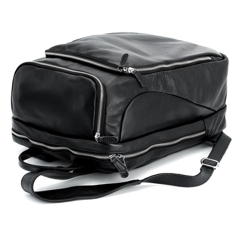 Leder Rucksack Weiche Bookbag Tiding 3065 Für Reise Große Laptoptasche Casual Schule nUEFRwx84q