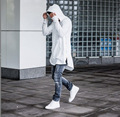 Hip Hop homens Long Zipper Arc Cut prolongado temporada Yezzy 1 2 3 Aoodie Yeezy Air Yeezus para venda Kanye West Hoodies temor de deus