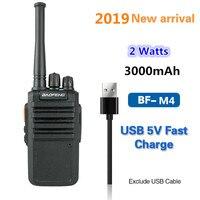 טוקי baofeng 2019 Baofeng BF-M4 שני הדרך רדיו hotselling UHF 400-470mhz 3000mAh קיבולת גבוהה USB סוללה מטען מהיר טוקי ווקי PMR (1)