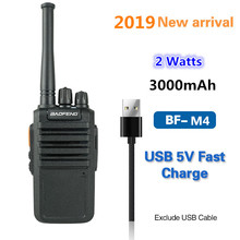 2019 baofeng BF-M4 Two Way radio hotselling  UHF 400-470mhz   3000mAh high capacity battery USB rapid charger PMR Walkie talkie