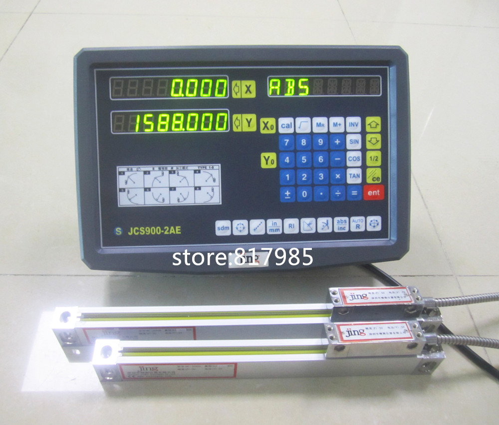 2 axis digital readout DRO display Linear scale