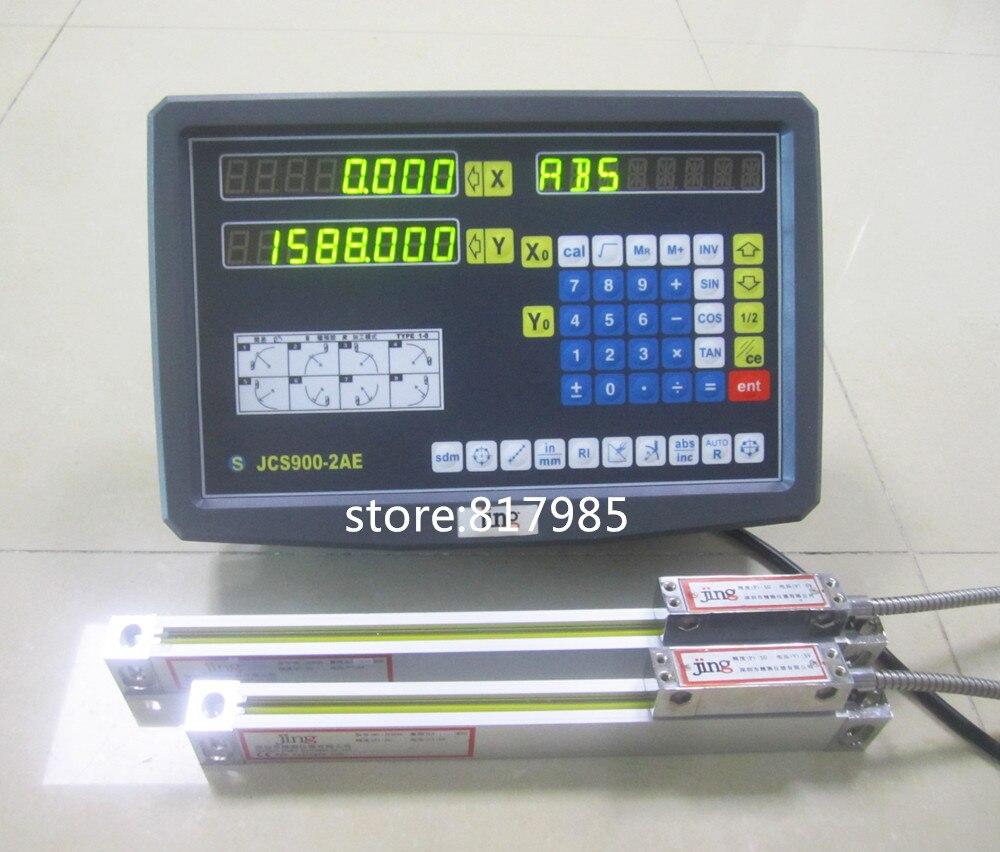 2 ejes de lectura digital DRO pantalla escala lineal-in Instrumentos de medición de nivel from Herramientas on AliExpress - 11.11_Double 11_Singles' Day 1
