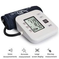 Digital Upper Arm Blood Pressure Pulse Monitors tonometer Portable health care Blood Pressure Monitor meters sphygmomanometer