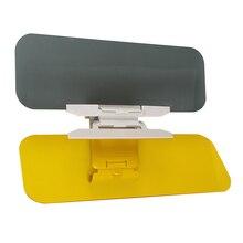 CHIZIYO 32X12 см HD автомобиль козырек от солнца Очки День и ночь антибликовое зеркало козырек от солнца s автомобиль прозрачный вид ослепительные очки для водителя