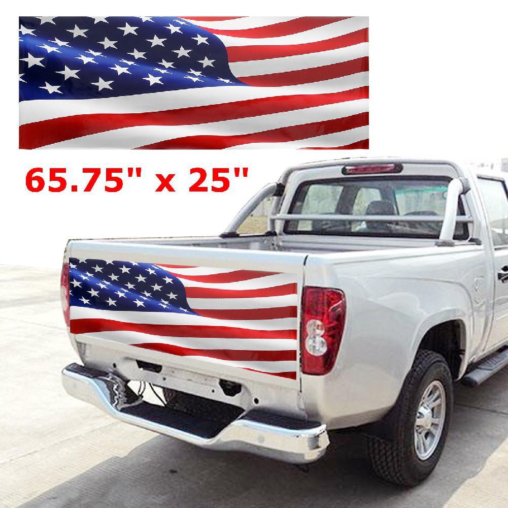 3.5 x 4.75 Waterproof UV Coated Laminated Reflective Vinyl STICKER Alaska Oval Glossly FLAG Decal