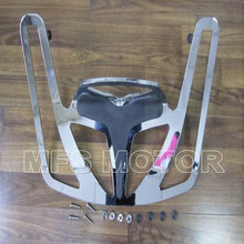 motorcycle Aluminum Rear Trunk Lunggage Rack Riser For Honda Goldwing GL1800 Chrome 2001-2012