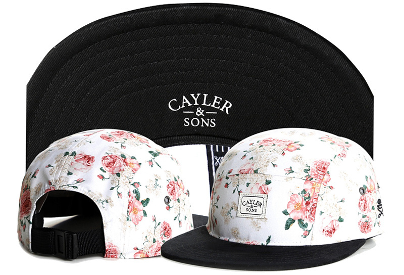 ed0bc032db3 Brand C S White floral PARIS 5 PANEL CAP ladies snapback cap bone sports  hip hop sun cap for men women baseball hat Box packing-in Baseball Caps  from ...