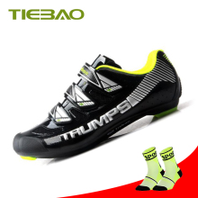 купить Tiebao Road Bike Shoes sapatilha ciclismo sneakers cycling shoes athletic Riding bike equitation zapatillas deportivas mujer дешево