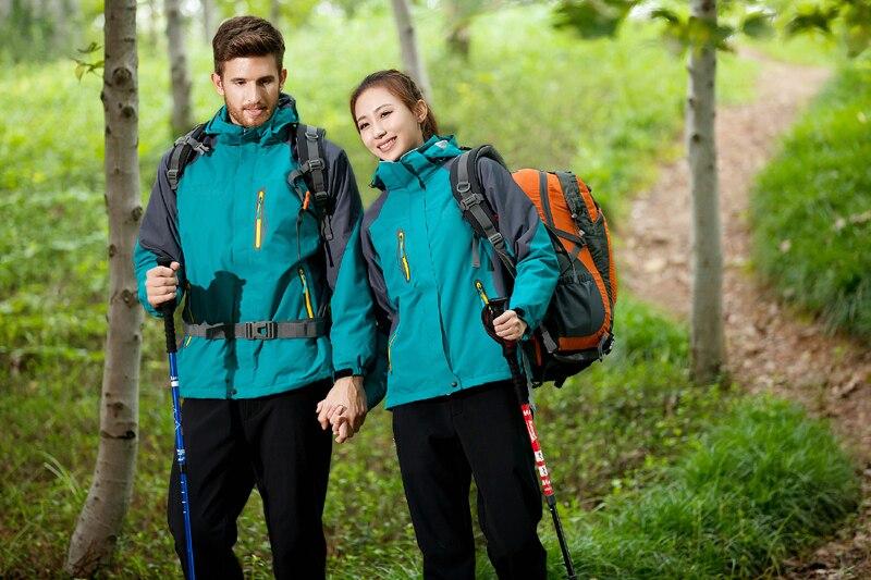 Veste d'extérieur femmes hiver respirant séchage rapide imperméable coupe-vent coupe-vent Ski Camping randonnée voyage vêtements - 2