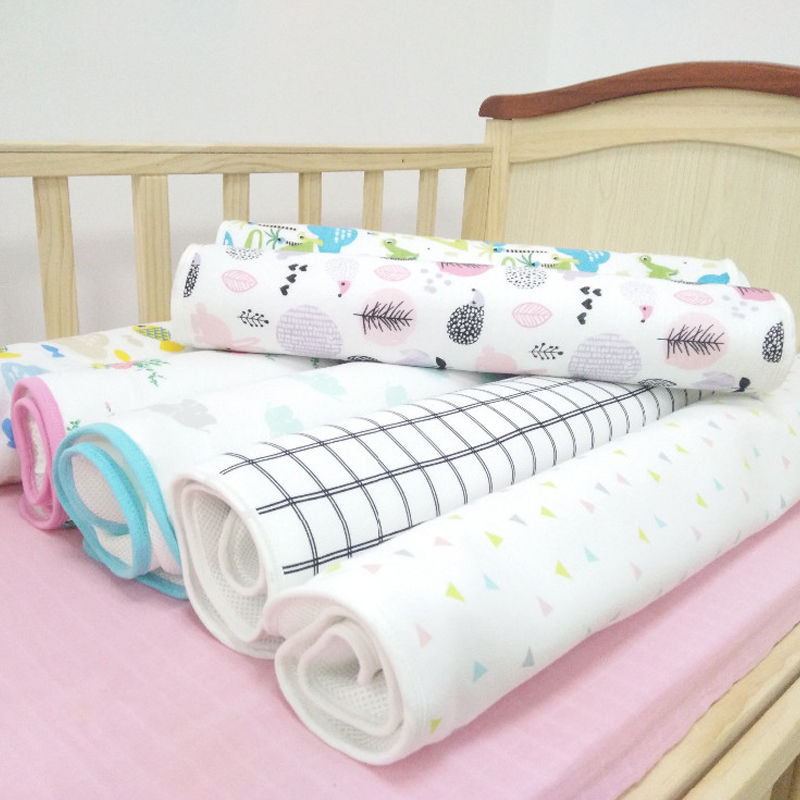 Cute Baby Changing mat Infants Portable Foldable Washable waterproof mattress children game Floor mats cushion Reusable Diaper