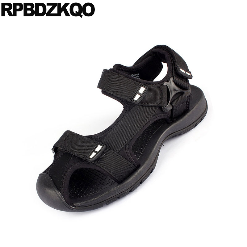Outdoor Fashion Closed Toe Sandals Sneakers Size 45 Flat Black Beach Large Native Plus Mens Mesh Shoes Designer Sport Summer Big 2