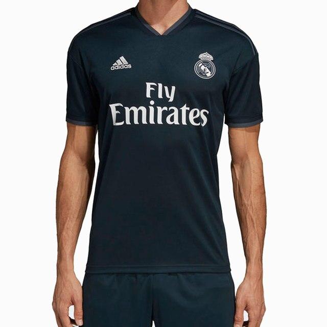 b6e11bd81d8b5 ADIDAS CAMISETA REAL MADRID 2018 2019 hombre - camiseta fútbol poliester  negro - camisetas de futbol