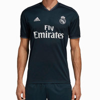 Real madrid 2018 2019 MAN Adidas black polyester Football Shirt soccer jerseys, camiseta REAL MADRID SHIRT Nueva 2018 verano