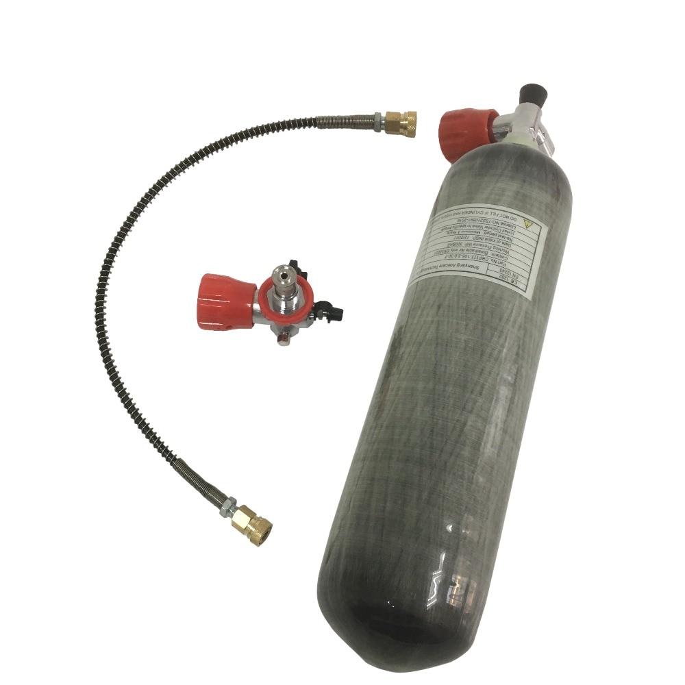 AC103101 3L CE Carbon Fiber High Pressure 4500Psi Scuba Valve Paintball Tank  Filling Station Oxygen Cylinder  Acecare 2019