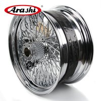 Arashi Newest 18x8.5Rear Wheel Rim For Harley XL 1200 R SPORTSTER ROADSTAR XR 1200 X Chrome Modification Motorcycle Wheel Rims