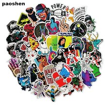 50 pcs/pack Classic Fashion Style Graffiti Stickers For Moto car & suitcase cool laptop stickers Skateboard sticker(China)