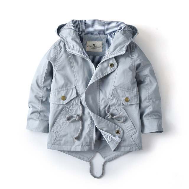Casual Autumn Hooded Jacket 1