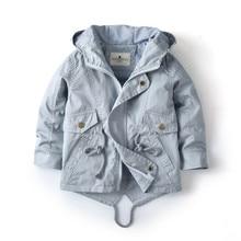 2 3 4 5 6 7 anos do bebê da criança meninos meninas primavera outono jaqueta marca kitted topos outerwear meninos roupas com capuz crianças outfit