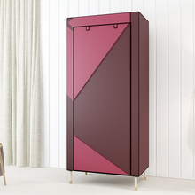 Reinforcement Thicken Cloth Wardrobe Steel Pipe DIY Student Wardrobe Closet Clothing Storage Cabinet High Quality Home