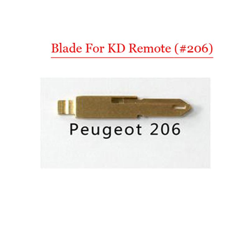 все цены на  Free shipping (10 pcs/lot)Metal Blank Uncut Flip KD Remote MIT8 Key Blade Type NE73 for Peugeot 206  онлайн