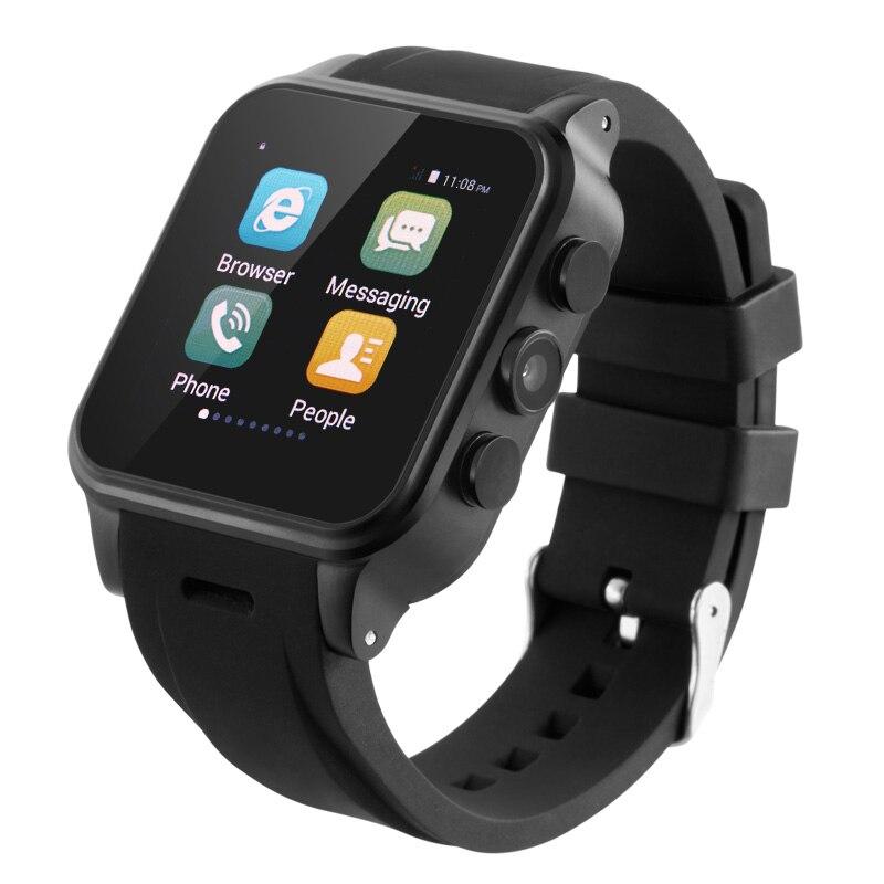 Pw308 3 m 720 p cámara 512 m + 4 gb mtk6572 android smart watch 2g + 3g de memor
