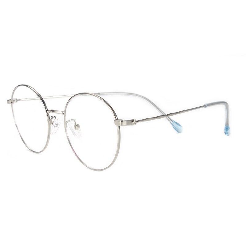 Handoer Round Optical Glasses Frame for Women Eyewear Spectacles Prescription Vintage H6022