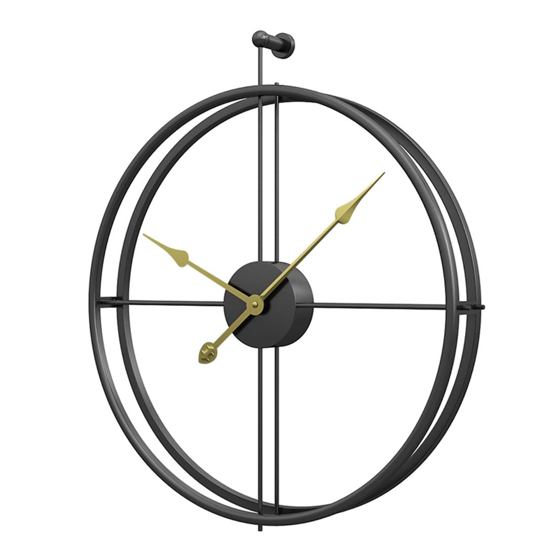 US $39.49 50% OFF 55cm Large Silent Wall Clock Modern Design Clocks Home  livingroom Decor Office European Style Hanging Wall Watch Clocks 2019-in  Wall ...