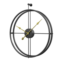 Homingdeco 55cm Large Silent Wall   Clock   Modern Design   Clocks   For Home Decor Office European Style Hanging Wall Watch   Clocks