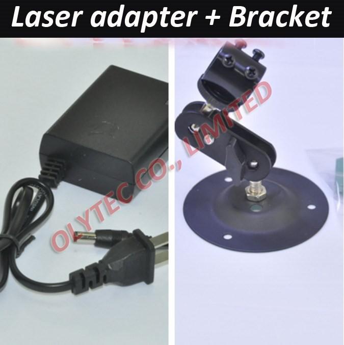 Купить ЛИНИЯ 50 МВт 648nm КРАСНЫЙ Лазерный Модуль с адаптером питания и кронштейн дешево