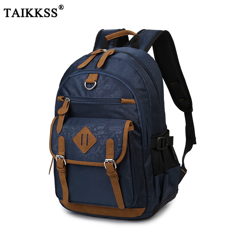 2018 New Fashion Men Women Oxford Backpacks 15 Inch Notebook Laptop Backpack Casual Large Travel Rucksack Students School Bags oxford waterproof black backpacks men women unisex square casual school bags large capacity students college backpacks