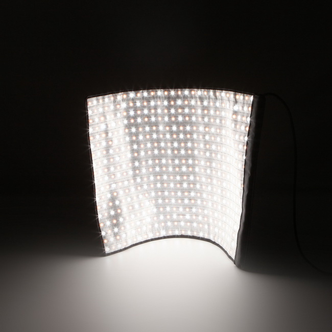new product 6a6fa c1a1b US $278.76 8% OFF Resolution Flexible Lighting Roll LED Light Panel led  curtain screen For Photography Shooting Photo Studio Daylight-in Flashes  from ...