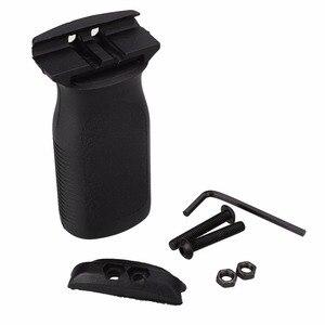 Image 2 - Тактический охотничий страйкбол RVG вертикальная рукоятка пневматический игрушечный пистолет AR15 винтовка полимерная ручная для 20 мм Пикатинни рельс KeyMod защита рук