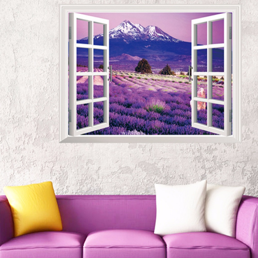 Lavender Living Room Purple Wall Decor Living Room Yes Yes Go
