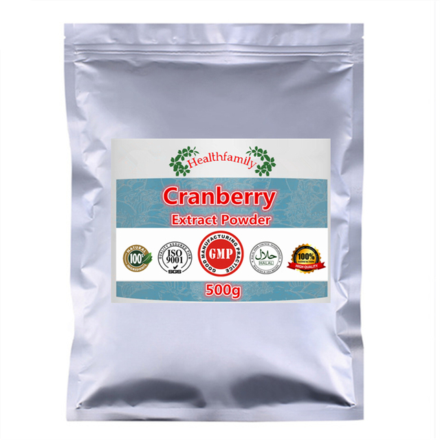 100g-1000g Pure Cranberry Extract Powder,For Urinary Care & Enhance Immune System For all People,free shipping