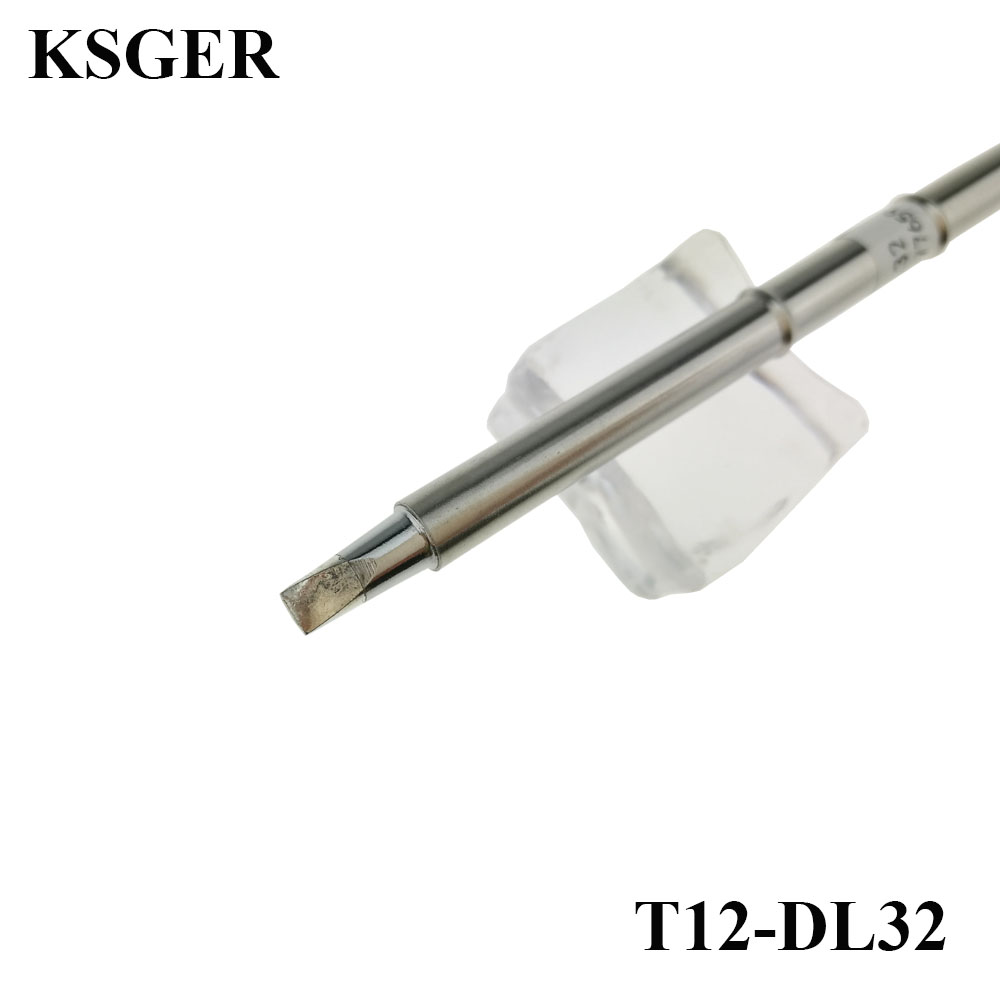 Electronic Soldering Iron KSGER T12-DL32 Welding Tools T12 Solder Tips For FX-951 FM-2028 I501 For Soldering Handle 220v 70W