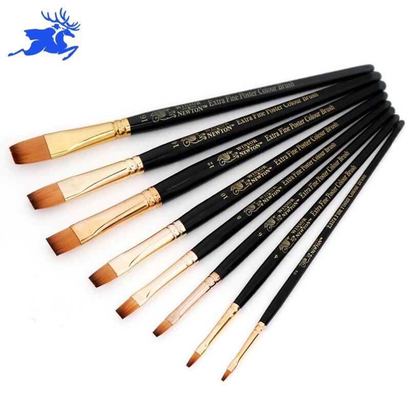 Acrylic Paint Flat Brushes